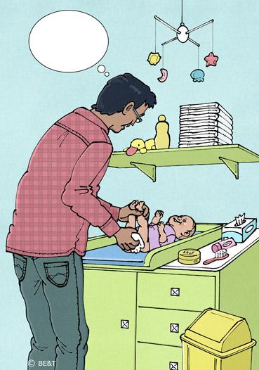 Baby verschonen