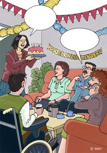Een feestje